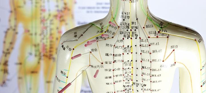 Akupunktur und Lasertherapie